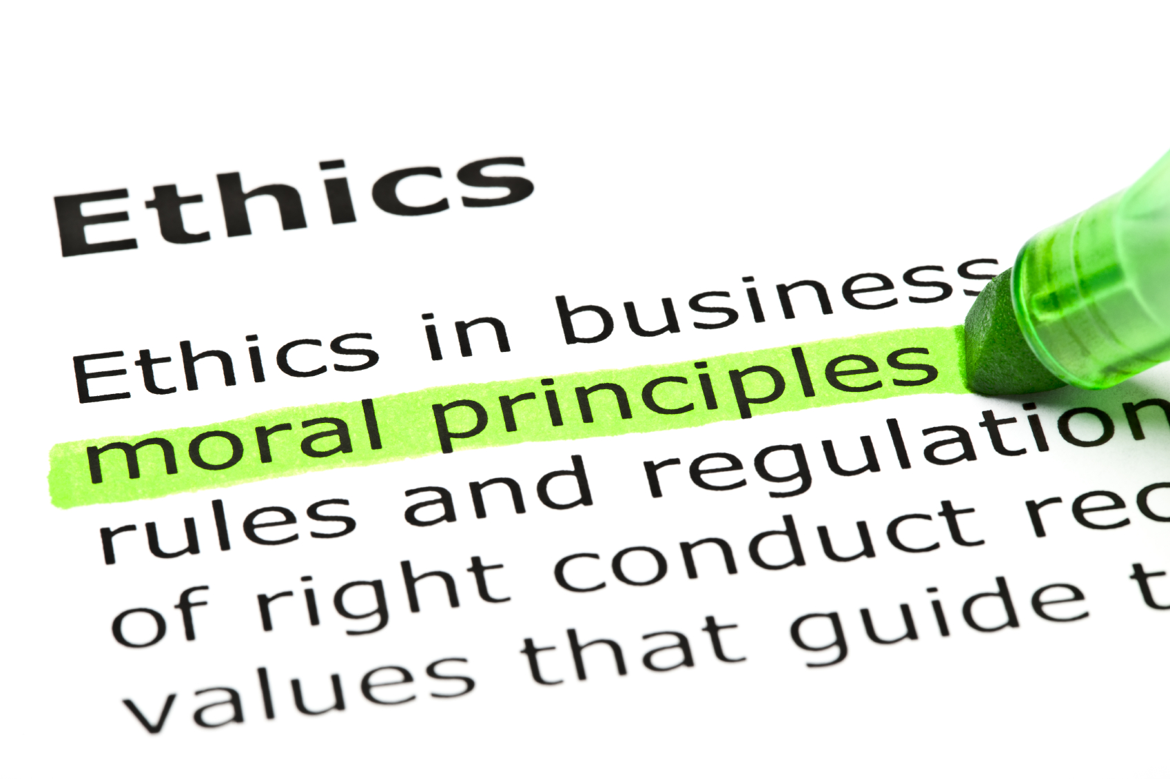 ethics and ethical behavior Ethics: more than just a set of  rules as 'ethics laws' or 'ethical  to reinforce positive ethical behavior and discourage improper conduct.