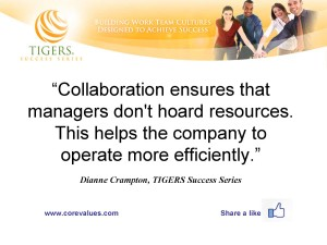 Future Work Environments Encourage Team Building and Cooperation