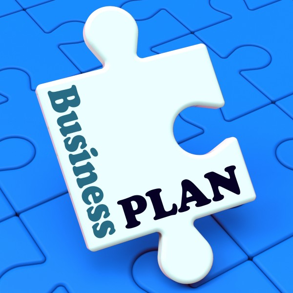 Business Plan Showing Management Growth Strategy Solution