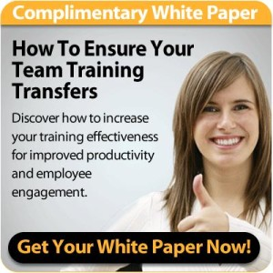 how to ensure your team training transfers